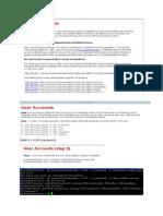 Part I -OS Configuration