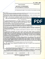 IS 11825 - Method Od Weighment of Automotive Vehicles