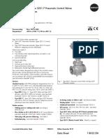 0420 PV 201 Globe Valve Data Sheet