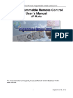 User Manual IR Mode en v14