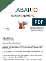 Silabario Genero y Numero1