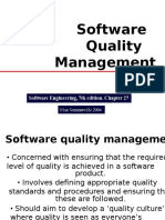 (Software Quality Management)