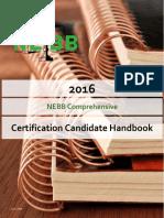 2016 NEBB Comprehensive Candidate Handbook - 6-1-2016 FINAL
