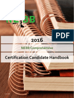 2016 NEBB Comprehensive Candidate Handbook - 6-1-2016 FINAL