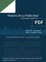 Historia de La Publicidad-1