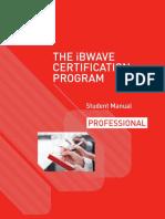 Sample Professional Student Manual-Professional