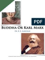 Buddha or Karl Marx by Dr. Ambedkar