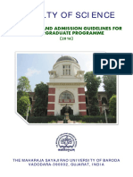 UG Prospectus Fac Sci 14-05-2016