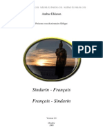 Dictionnaire sindarin-francais, francais-sindarin