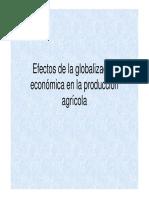 Efectos de La Globalización Económica en La Producción