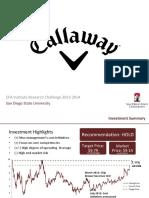Callaway Presentation