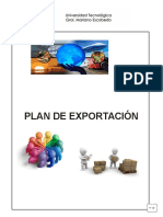 Manual de Plan de Exportación Ut