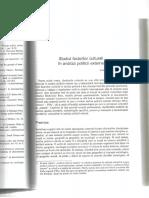 Studiul Factorilor Culturali in Analiza Politicii Externe