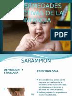Enfermedades Eruptivas de La Infancia