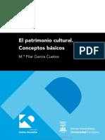 El Patrimonio Cultural Conceptos Basicos
