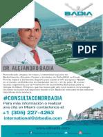 Dr Badia en Santander España