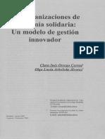 Las organizaciones de economía solidaria