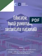 White Paper Educatie Buna Guvernare Securitate Nationala