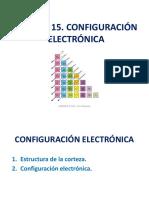 15 Configuración Electrónica