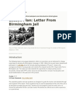lesson plan on birmingham jail