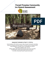 sherwood forest firewise community hazard assessment final 160512