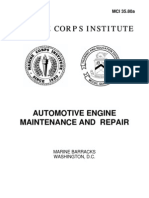 3580A Automotive Engine Maintenance and Repair