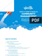 vanilla forums - ebook - what it takes to excel in community management