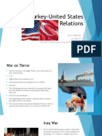 Turkey–United States Relations