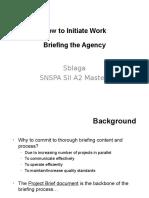 How to Initiate Work Agency Briefing SBlaga Dec 3 2015_SNSPA