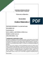 Plan Cátedra AM I - 2015