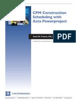 Long Intl CPM Constr Scheduling With Asta Powerproject