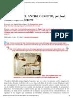 LA COCINA DEL ANTIGUO EGIPTO, Por José Manuel Mójica Legarre _ Revista La Alcazaba