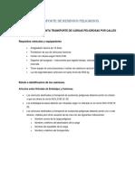 Requisitos Para El Transporte de Residuos Peligrosos