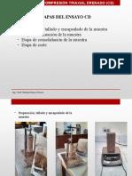 Ensayo Triaxial Consolidado Drenado (CD)