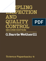 [G. Barrie Wetherill (Auth.)] Sampling Inspection