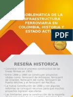 Problemática de la infraestructura ferroviaria en Colombia