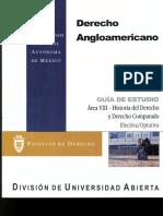 Derecho Angloamericano Area VIII-Historia Del Derecho y Derecho Comparado