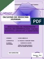 Infecciones de Trasmision Sexual en Dermatología(1)