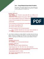 Gabarito - Lista de Exercícios de Capacidade de Máquina