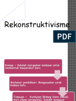 Rekonstruktisvisme and Eksistentialisme
