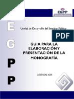 Guia Elaboración Monografía