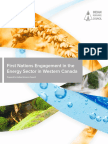 First Nations Engagement in the Energy Sector in Western Canada