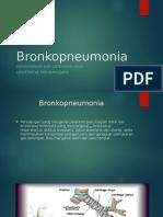 Bronkopneumonia ANAK