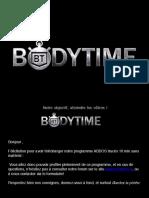 Programme Bodytime Homme Abdos Traces 10 Min