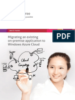 Mindtree Whitepaper Migrating an Existing on Premise Application to Windows Azure Cloud