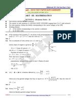 Jee Advanced 2015 Paper1 Solutiosn Maths