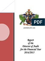 Report of the Director of Audit for the Financial Year 2014 2015 Final