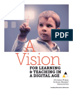 A Vision for Learning and Teaching in Digital Age