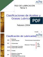 05 Clasificaci n de Aceites y Grasas Lubricantes