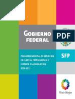 Rendición de cuentas y transparencia FP